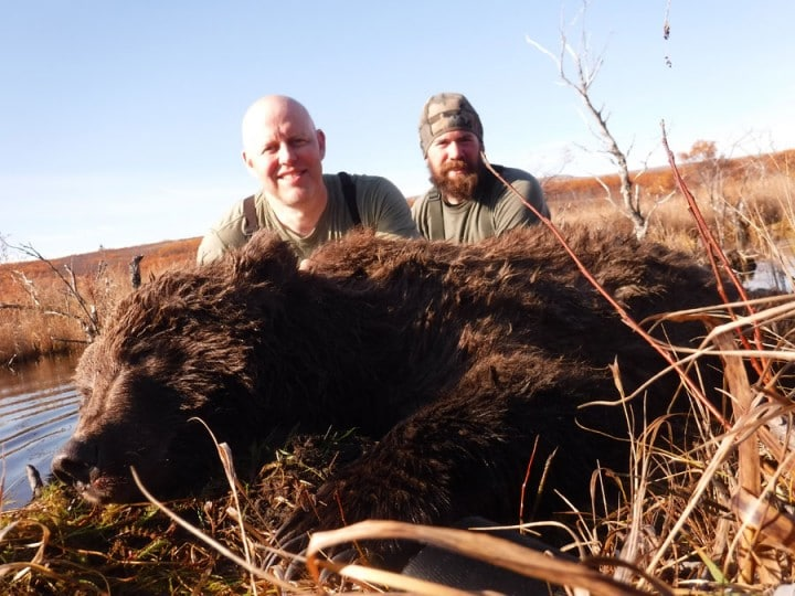 Arctic North Guides Alaska Bear Hunt.